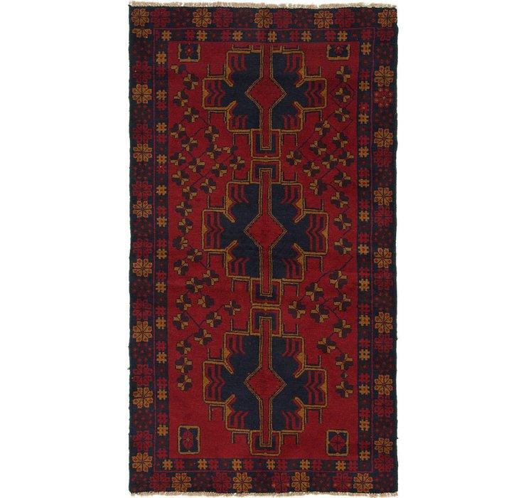 112cm x 198cm Balouch Persian Rug