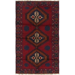 HandKnotted 3' 8 x 6' 2 Balouch Persian Rug