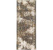 Link to 105cm x 275cm Ultra Vintage Persian Runner Rug