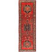 Link to 97cm x 295cm Hamedan Persian Runner Rug