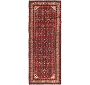 Link to 102cm x 285cm Hossainabad Persian Runner Rug