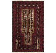 Link to 3' x 4' 10 Balouch Persian Rug
