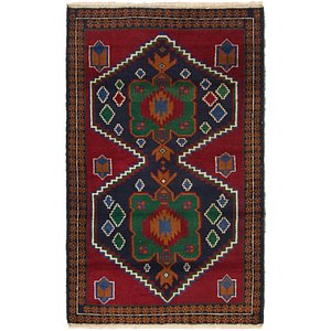 Link to 85cm x 140cm Balouch Persian Rug item page