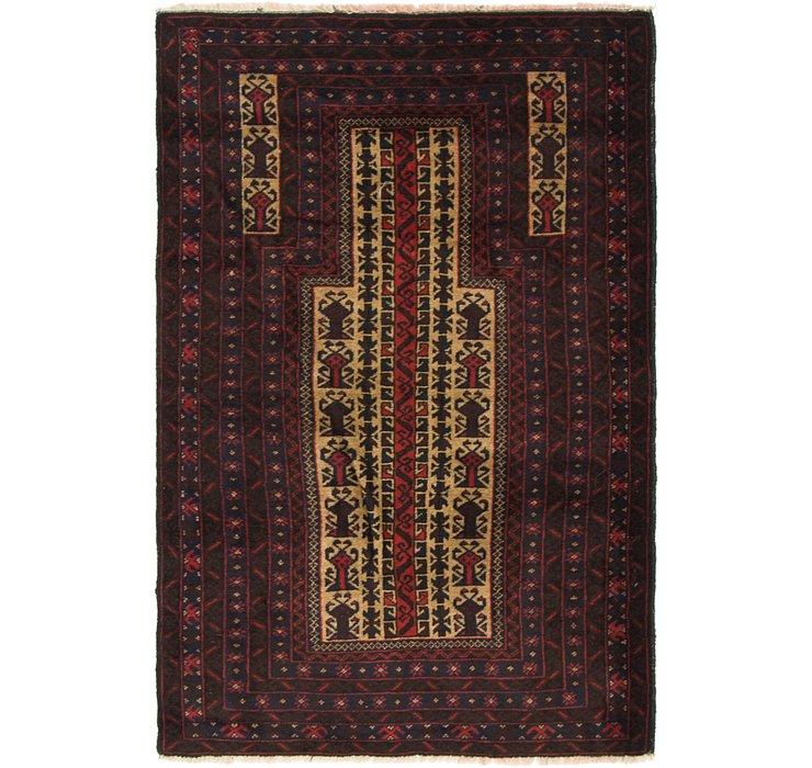 97cm x 145cm Balouch Persian Rug