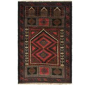 Link to 3' 3 x 5' Balouch Persian Rug