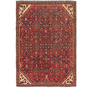 Link to 3' 8 x 5' 6 Hossainabad Persian Rug