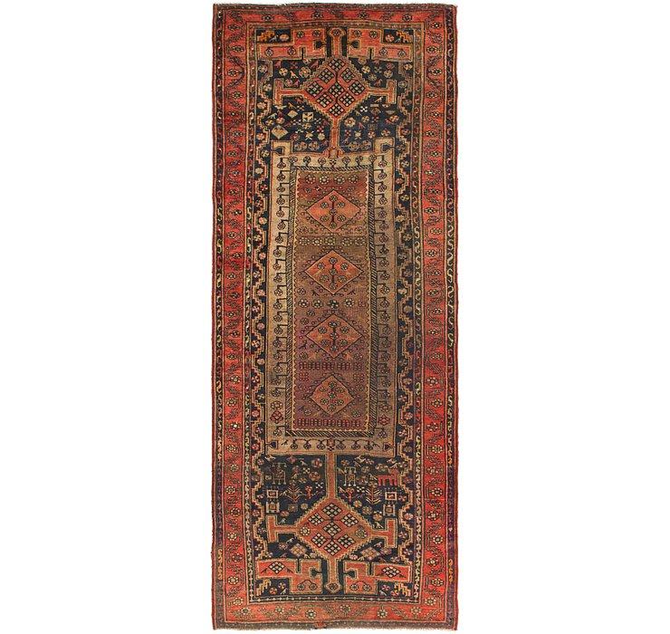 145cm x 378cm Zanjan Persian Runner Rug