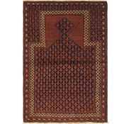 Link to 3' 9 x 5' 5 Balouch Persian Rug