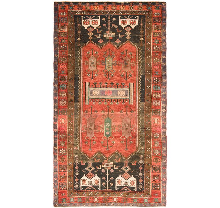 4' 10 x 9' 2 Sirjan Persian Runner Rug