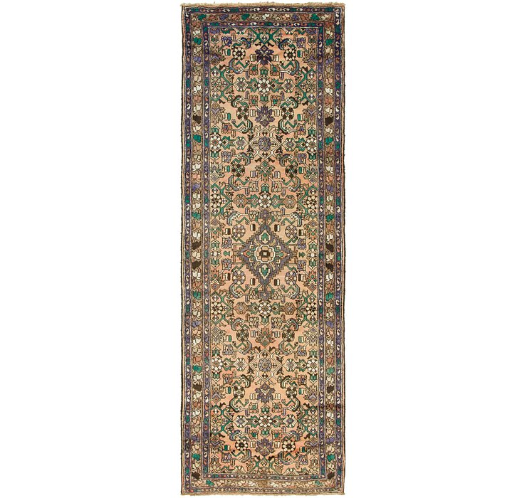 3' 5 x 10' 6 Hamedan Persian Runner ...