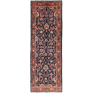 Link to 110cm x 328cm Mahal Persian Runner Rug item page