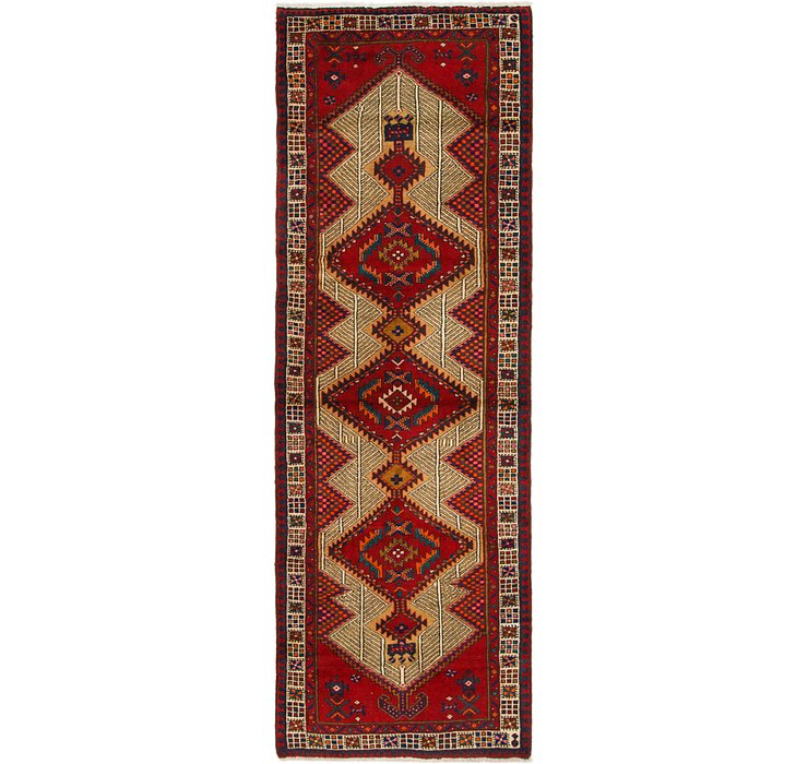 3' 5 x 9' 10 Ardabil Persian Runner ...