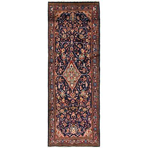 Link to 110cm x 300cm Mahal Persian Runner Rug item page