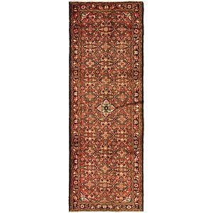 Link to 3' 6 x 9' 10 Hossainabad Persian Ru... item page
