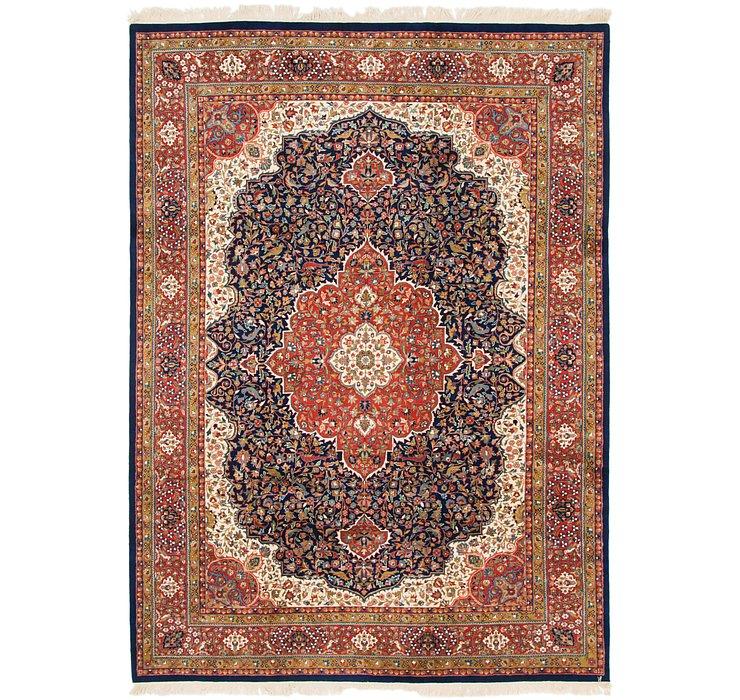 8' 2 x 11' 4 Tabriz Oriental Rug