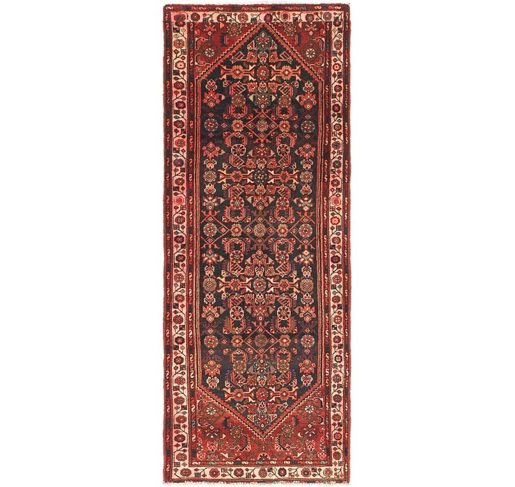 HandKnotted 3' 6 x 9' 3 Malayer Persian Runner ...