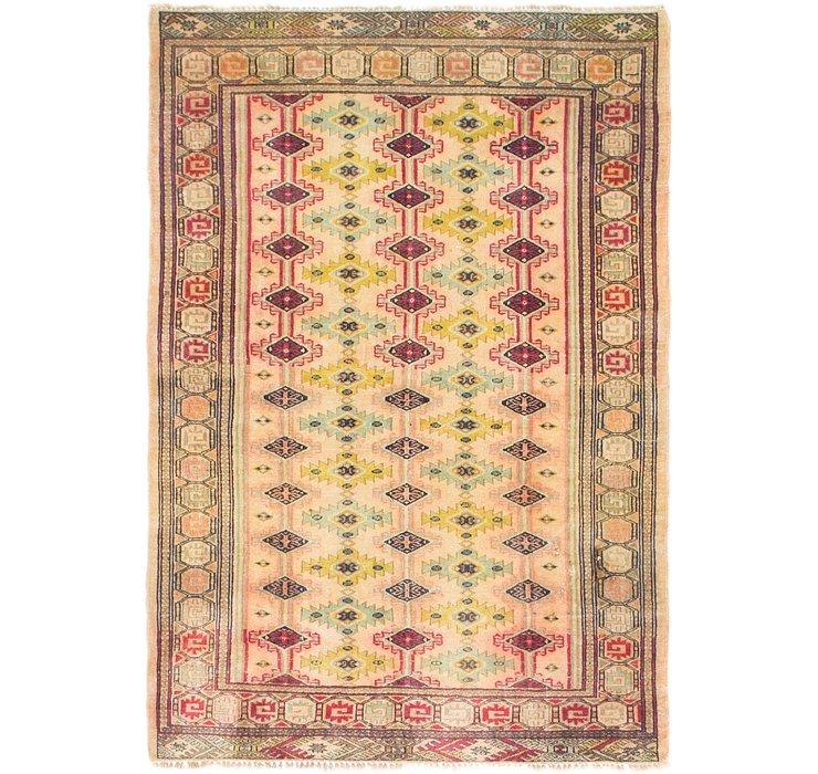 4' x 6' Bokhara Oriental Rug