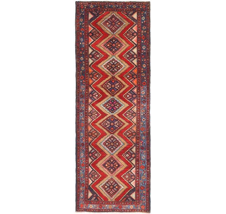 107cm x 315cm Chenar Persian Runner Rug