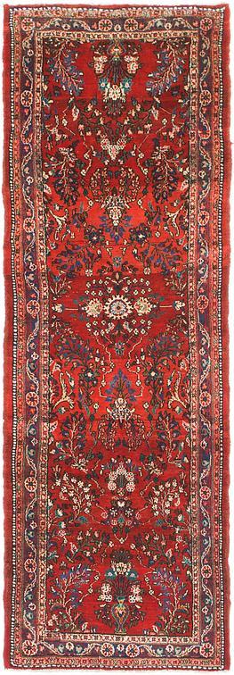Red 3 3 X 8 8 Shahrbaft Persian Runner Rug Persian