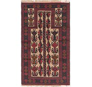 Link to 2' 8 x 4' 9 Balouch Persian Rug