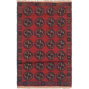 Unique Loom 2' 8 x 4' 6 Balouch Persian Rug