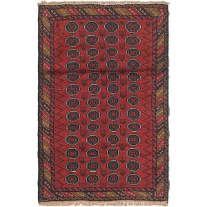 Link to 90cm x 135cm Balouch Persian Rug item page