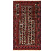 Link to 2' 7 x 4' 10 Balouch Persian Rug