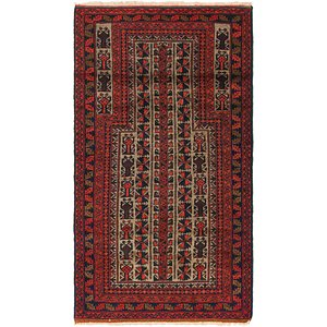 Link to 80cm x 147cm Balouch Persian Rug item page