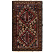 Link to 97cm x 152cm Balouch Persian Rug