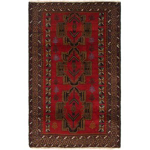 Link to 90cm x 152cm Balouch Persian Rug item page
