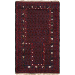 Link to 2' 10 x 4' 9 Balouch Persian Rug item page