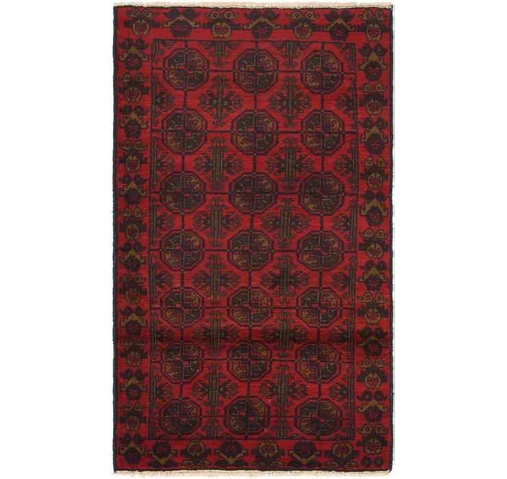 2' 8 x 4' 8 Balouch Persian Rug