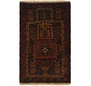 Link to 2' 6 x 4' 2 Balouch Persian Rug