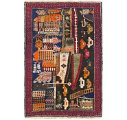 Link to 2' 10 x 4' 3 Balouch Persian Rug