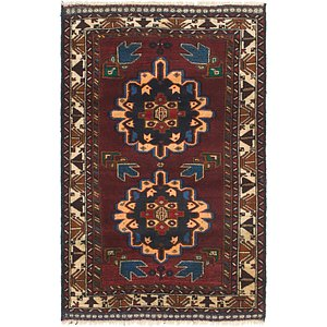 Link to 3' x 4' 6 Balouch Persian Rug item page