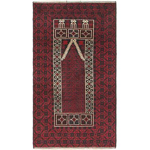 Link to 85cm x 147cm Balouch Persian Rug item page