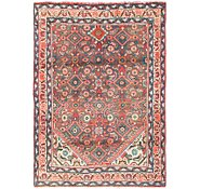 Link to 3' 4 x 4' 9 Hossainabad Persian Rug