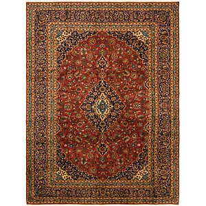 Link to 9' 7 x 13' Mashad Persian Rug item page