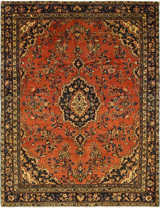 Red 7 X 9 3 Liliyan Persian Rug Persian Rugs Irugs Uk