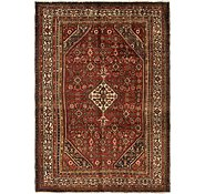 Link to 6' 6 x 9' 6 Hossainabad Persian Rug