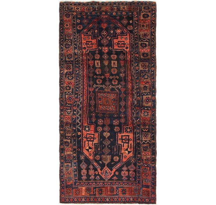 4' 2 x 9' Zanjan Persian Runner Rug