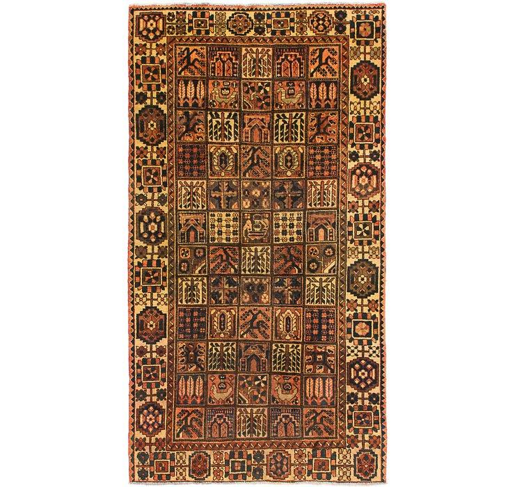 5' 2 x 9' 10 Bakhtiar Persian Rug