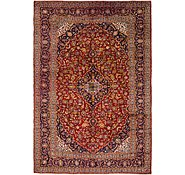 Link to 9' 7 x 13' 9 Mashad Persian Rug