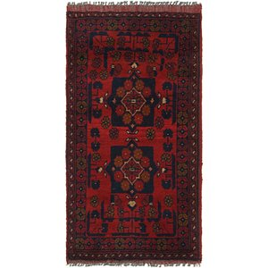 Link to 1' 8 x 3' 4 Khal Mohammadi Rug item page