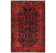 Link to 4' 6 x 5' 4 Hamedan Persian Rug