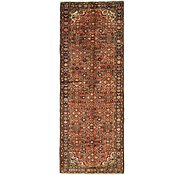 Link to 3' 7 x 9' 9 Hossainabad Persian Runner Rug