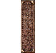Link to 2' 10 x 11' Hossainabad Persian Runner Rug