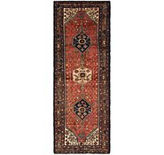 Link to 3' 7 x 10' 7 Hamedan Persian Runner Rug
