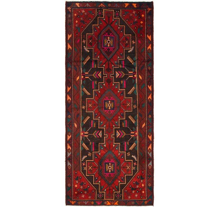 4' 2 x 9' 7 Zanjan Persian Runner Rug