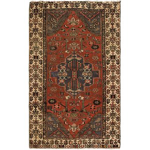 Link to 122cm x 198cm Hamedan Persian Rug item page